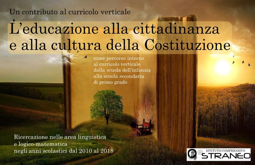 L'EDUCAZIONE ALLA CITTADINANZA E ALLA CULTURA DELLA COSTITUZIONE